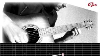 Tutorial: Let Her Go on guitar (Sungha Jung cover) lesson 1.