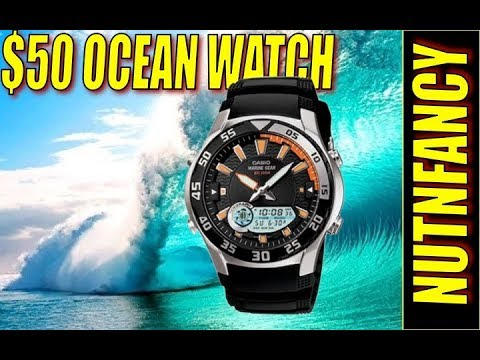 EDC Dive Watch You Won't Have to Baby:  Casio AMW710