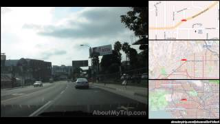 North Kings Road (Hollywood Hills, Los Angeles, CA) to Alpine Drive