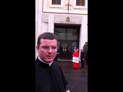 Cardinals After Mass