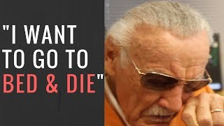 JUDGE REMOVES STAN LEE'S PROTECTION & HE SAYS HE'S GIVING UP ON LIFE