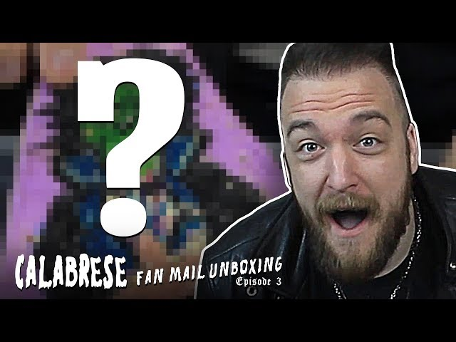 Demonic Necklaces, Creepy Candy, & More! | Calabrese Fan Mail Unboxing Ep.3