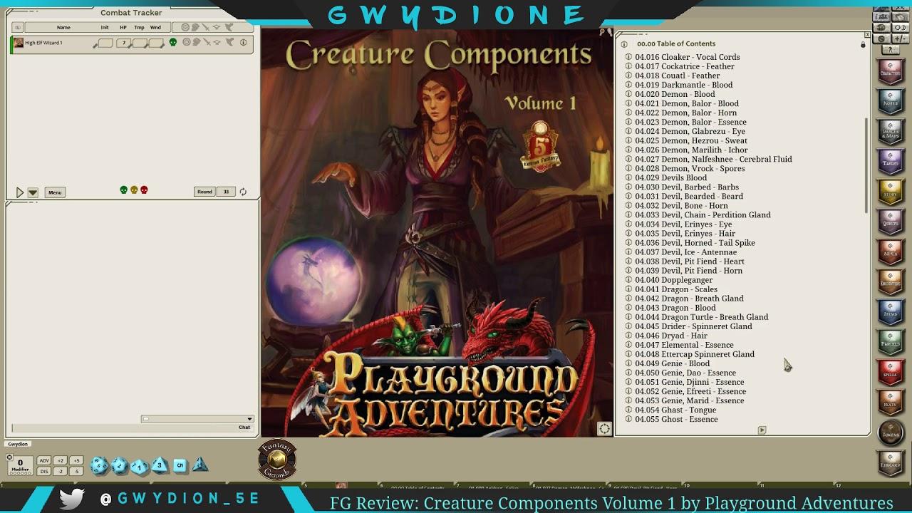 Creature Components 2 Action- & Spielfiguren