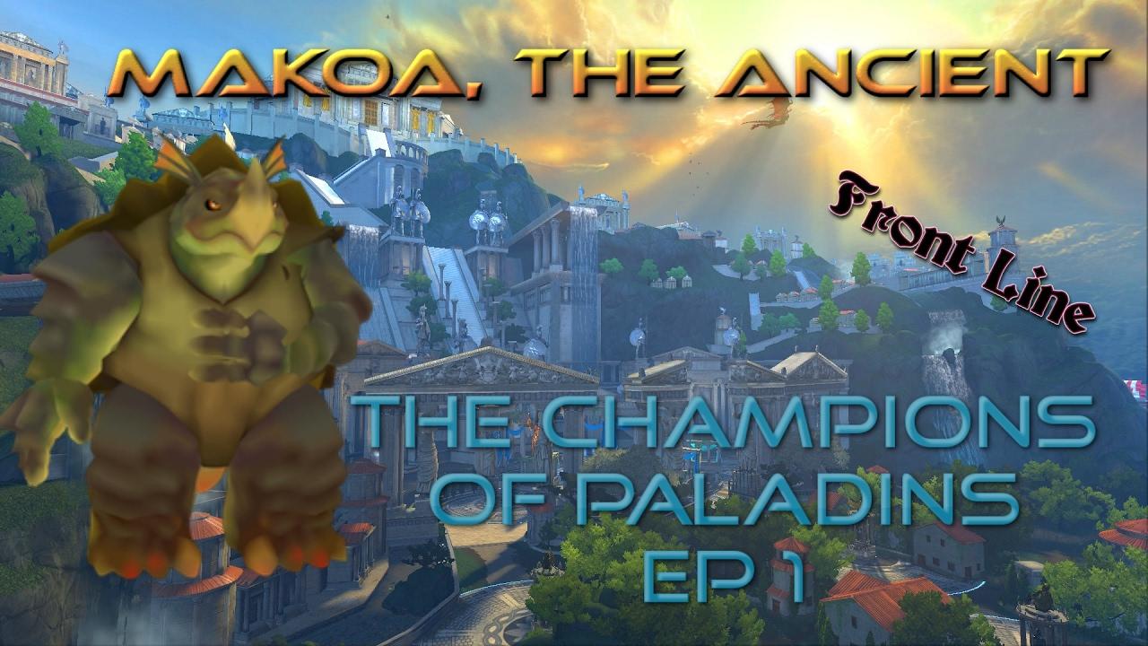 The Champions of Paladins EP 1 - Makoa, the Ancient - YouTube