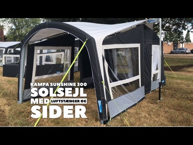 Kampa Sunshine Air 300 med sider - 2019 model