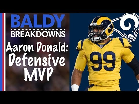 Why Aaron Donald is the Best Interior D-lineman in NFL History | Baldy Breakdowns