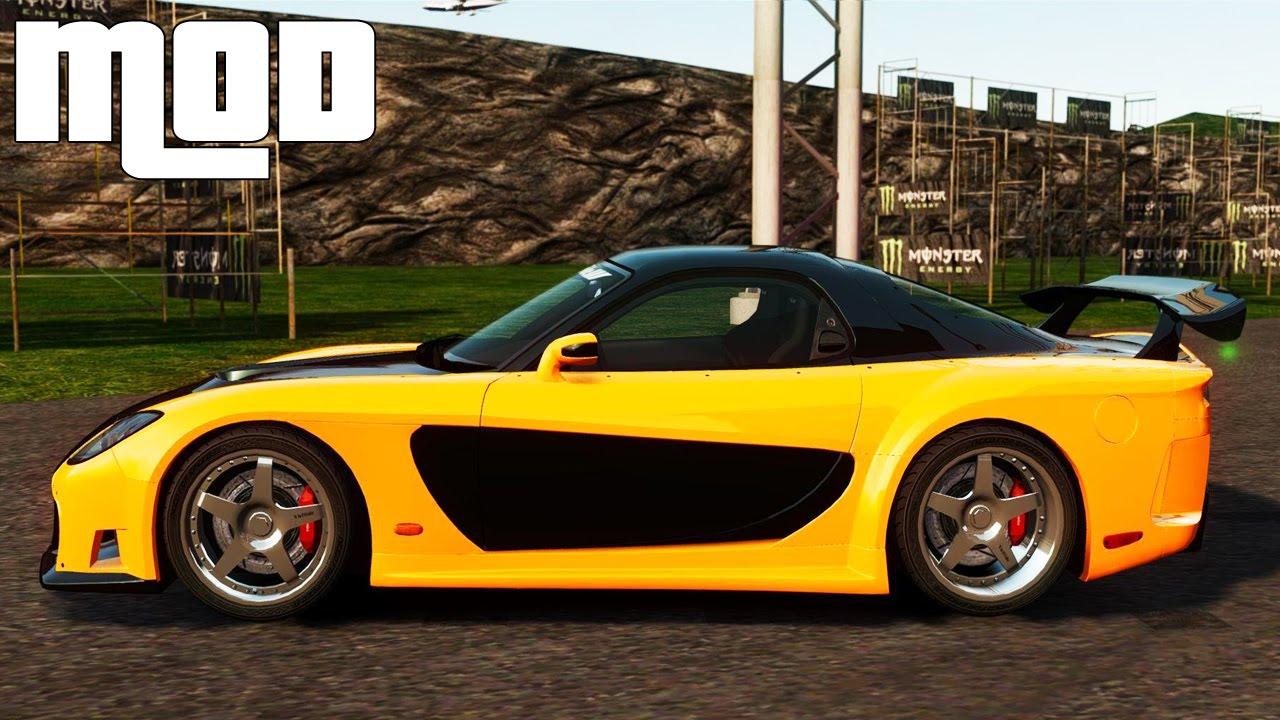 Fast And Furious 7 Cars Wallpapers Hd Gta Iv San Andreas Beta Mazda Rx 7 Veilside Tokyo Drift