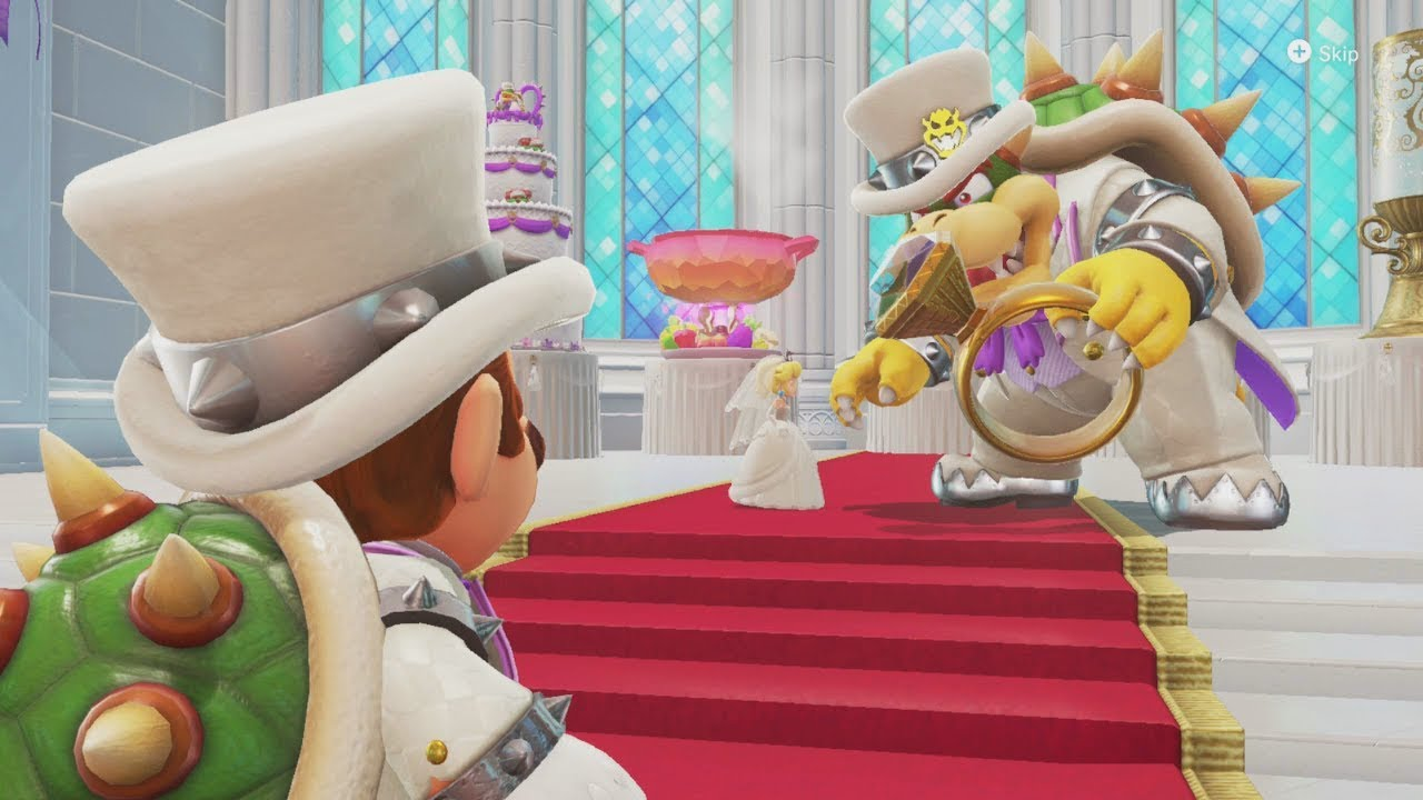 Crashing Bowser's Wedding Wearing the SAME Outfit!!! Super Mario