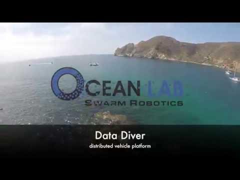 Ocean Lab develops swarming marine vehicle: The Data Diver