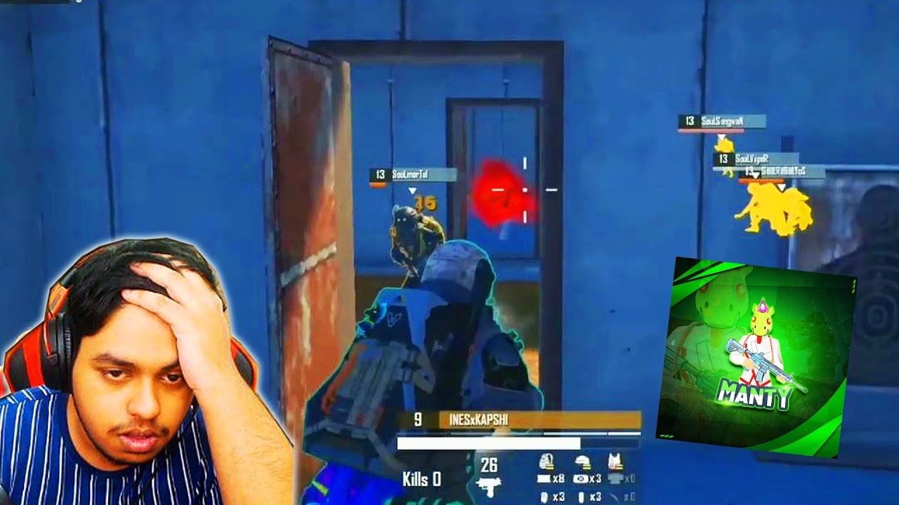 Download World's Fastest COMPETITIVE Assaulters MantyOP and INES Kapshi in PUBG Mobile