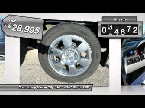 2011 gmc sierra 1500 mason city ia g883a youtube for Community motors mason city