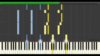 Mind Heist (Inception Trailer Music) - Zack Hemsey | Piano Tutorial Synthesia