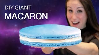 WE TRIED TO MAKE TASTY'S GIANT MACARON (VERSUS)