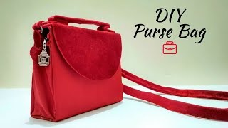 DIY PURSE BAG CLUTCH NO SEW | DIY cardboard clutch | Best out of waste clutch