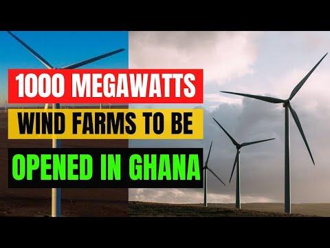 Nek To Open 1000 MW Wind Farms In Ghana