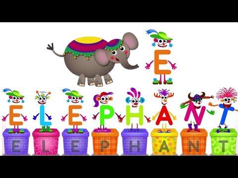 Learn Letter E | Super ABC Learning Games for Kids Preschool #Kids School ABC