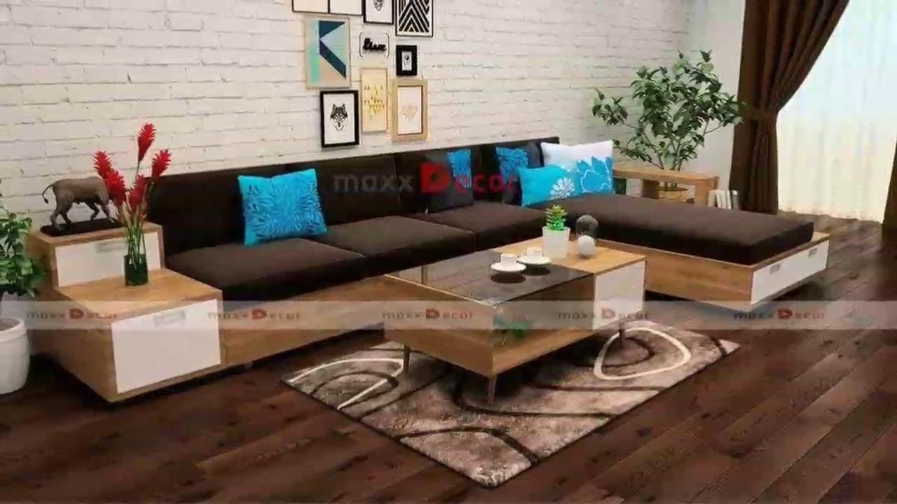 Tổng Hợp Cac Mẫu Sofa Gỗ đẹp Maxxdecor Youtube