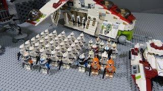 The Battle of Mantessa (p3) - Lego starwars stop motion (brickfilm)