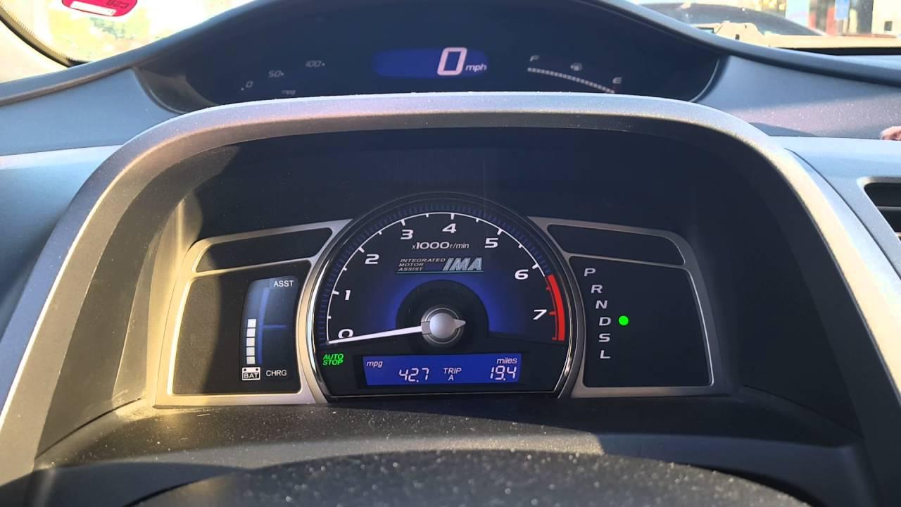 Improving MPG 33 MPG to 42 MPG Update  2008 Honda Civic