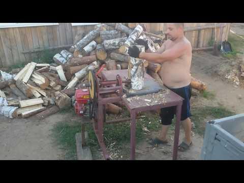 Самодельный станок колоть дрова!
