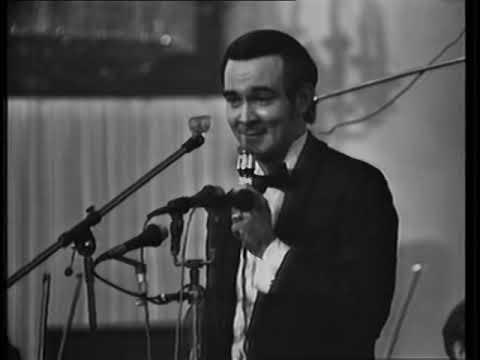 Муслим Магомаев - в авторском вечере Н. Богословского