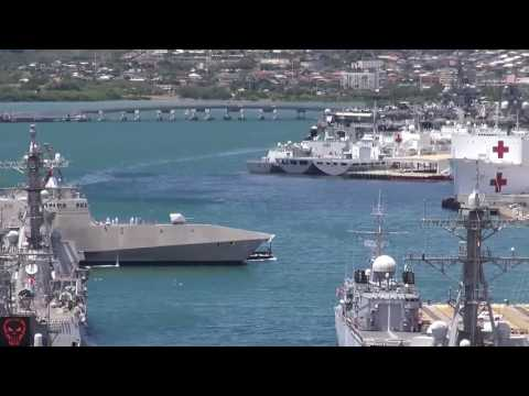 Military | USS Independence (LCS 2) Arrives At Pearl Harbor Naval Base