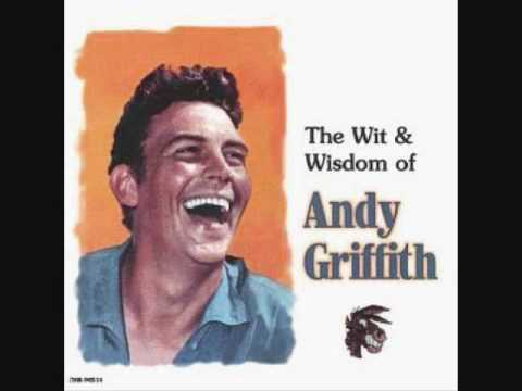 The Wit And Wisdom Of Andy Griffith - What It Was Was Football