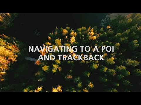 Suunto Traverse: Navigating to a POI and Trackback
