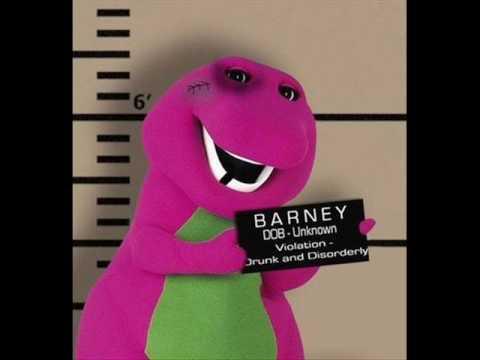 I love You Barney Parody