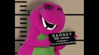 I love You Barney Parody