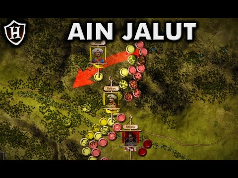 Battle of Ain Jalut, 1260 ⚔️ The Battle that saved Islam and stopped the Mongols - معركة عين جالوت