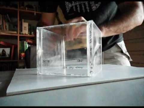CD case cube