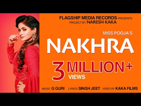 Nakhra (Full Video) : Miss Pooja | New Punjabi Songs 2019 | Latest Punjabi Songs 2019 | Jhanjran