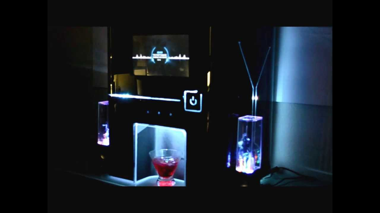 automatic cocktail machine sound system accessory youtube. Black Bedroom Furniture Sets. Home Design Ideas
