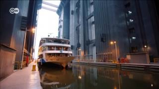 Chiny. Zobacz największą na świecie windę dla statków!