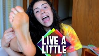 Wanna go barefoot? | Live A Little