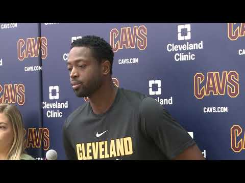 Dwyane Wade Cleveland Cavaliers full introductory press conference