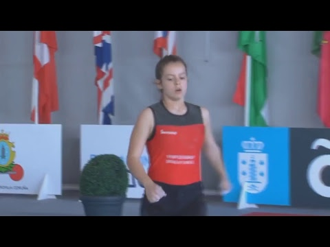 FRIDAYS 20:10 S42 W35 2018 IWF MASTERS WORLD WEIGHTLIFTING CHAMPIONSHIP