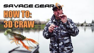 Savage Gear How to: 3D Crawfish with Nick \