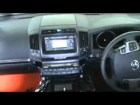 200 Series Landcruiser >> Toyota LandCruiser 200 dashboard - YouTube