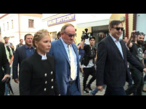 Despite risks, stateless Saakashvili to attempt Ukraine entry