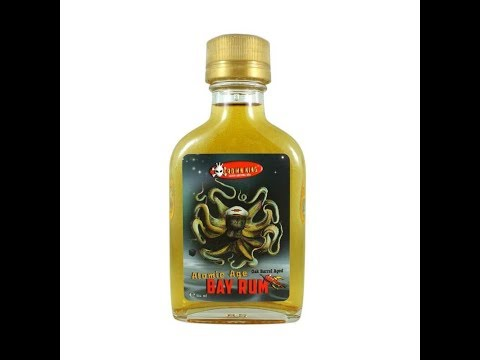 Review Atomic Age Bay Rum Aftershave by Phoenix Artisan  Accoutrements