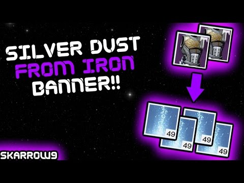 How to Get Silver Dust From Iron Banner!!