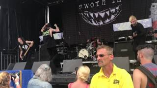 Sworn In/ Make It Hurt/ Vans Warped Tour/Salem Oregon/ 2017