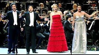 OPERA PLANET Anna Netrebko Elīna Garanča La Traviata Brindisi 4K ULTRA HD