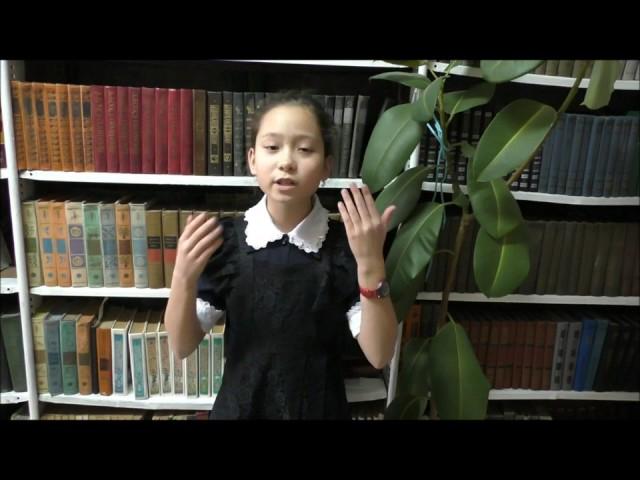 Изображение предпросмотра прочтения – СофияСивохина читает произведение «Ворона и Лисица» И.А.Крылова