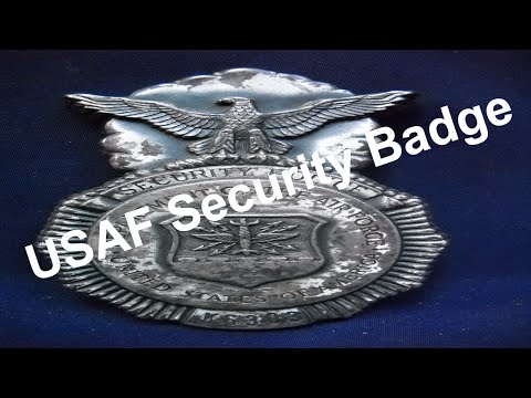 USAF Security Police Badge | Air Force Security Police Badge