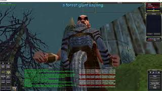 Project 1999 EverQuest.  Giant Fort sadness....Monk fail.