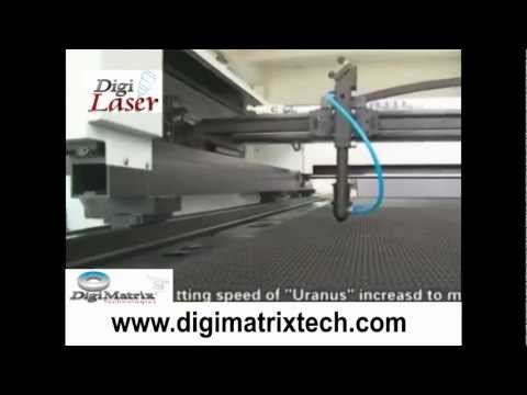 DGLTX1326 Laser Textile Cutting Machine