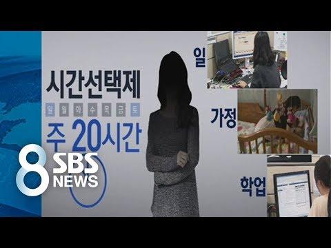 일+가정 다 잡는 시간제 공무원?…절반 그만둔 사연 / SBS